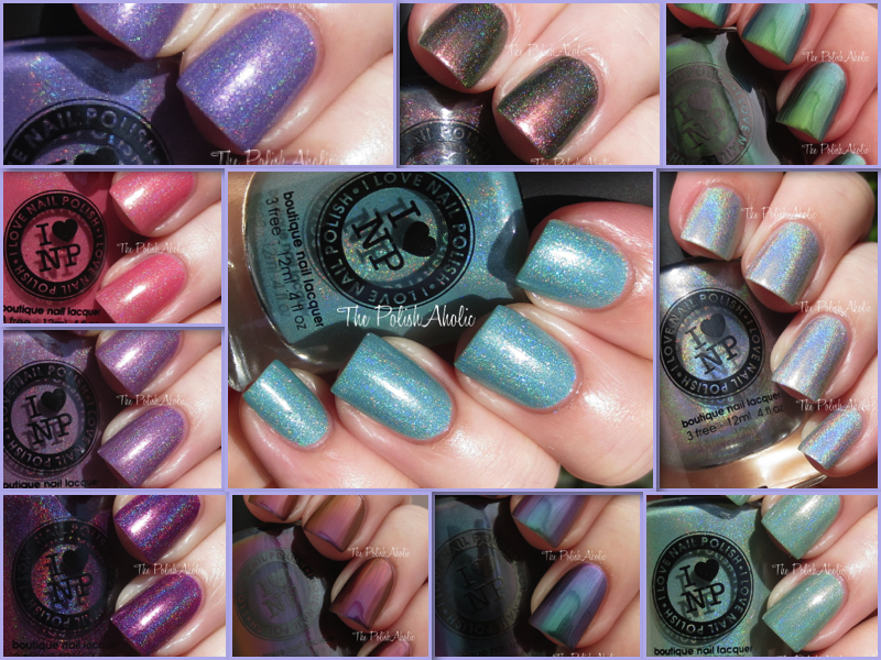 The PolishAholic: I Love Nail Polish Spring 2014 Swatches