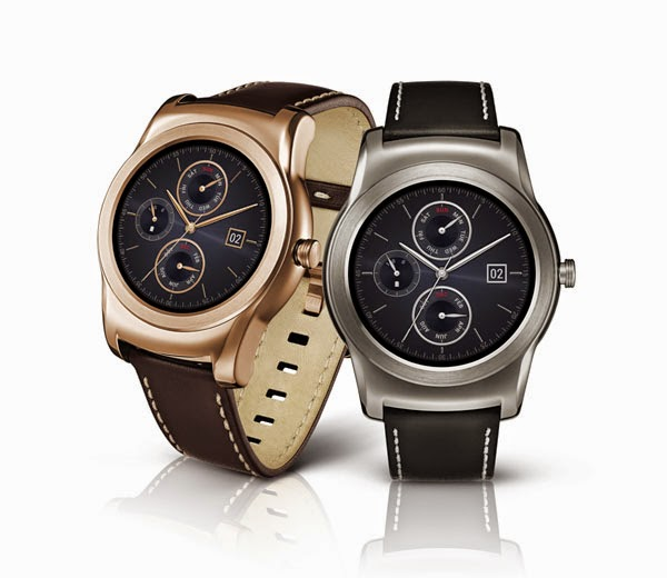 LG previews Watch Urbane, its first all-metal luxury Android Wear device