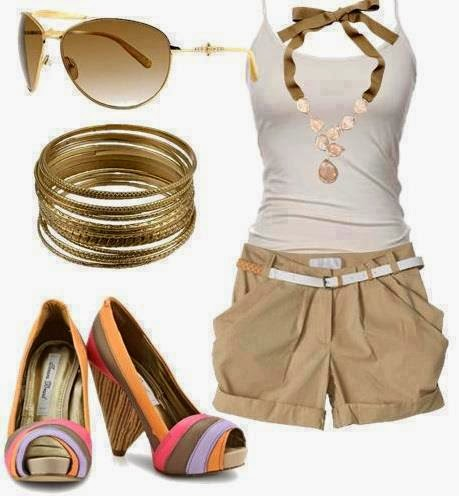 Color Combinations in Women's Apparel For Dress, Shoes, Bags and Jewelry