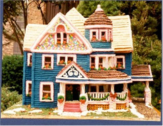 Beautiful Gingerbread House by Susan Palmer