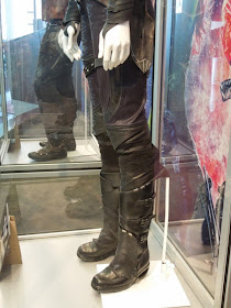 Guardians of the Galaxy Gamora leg costume detail