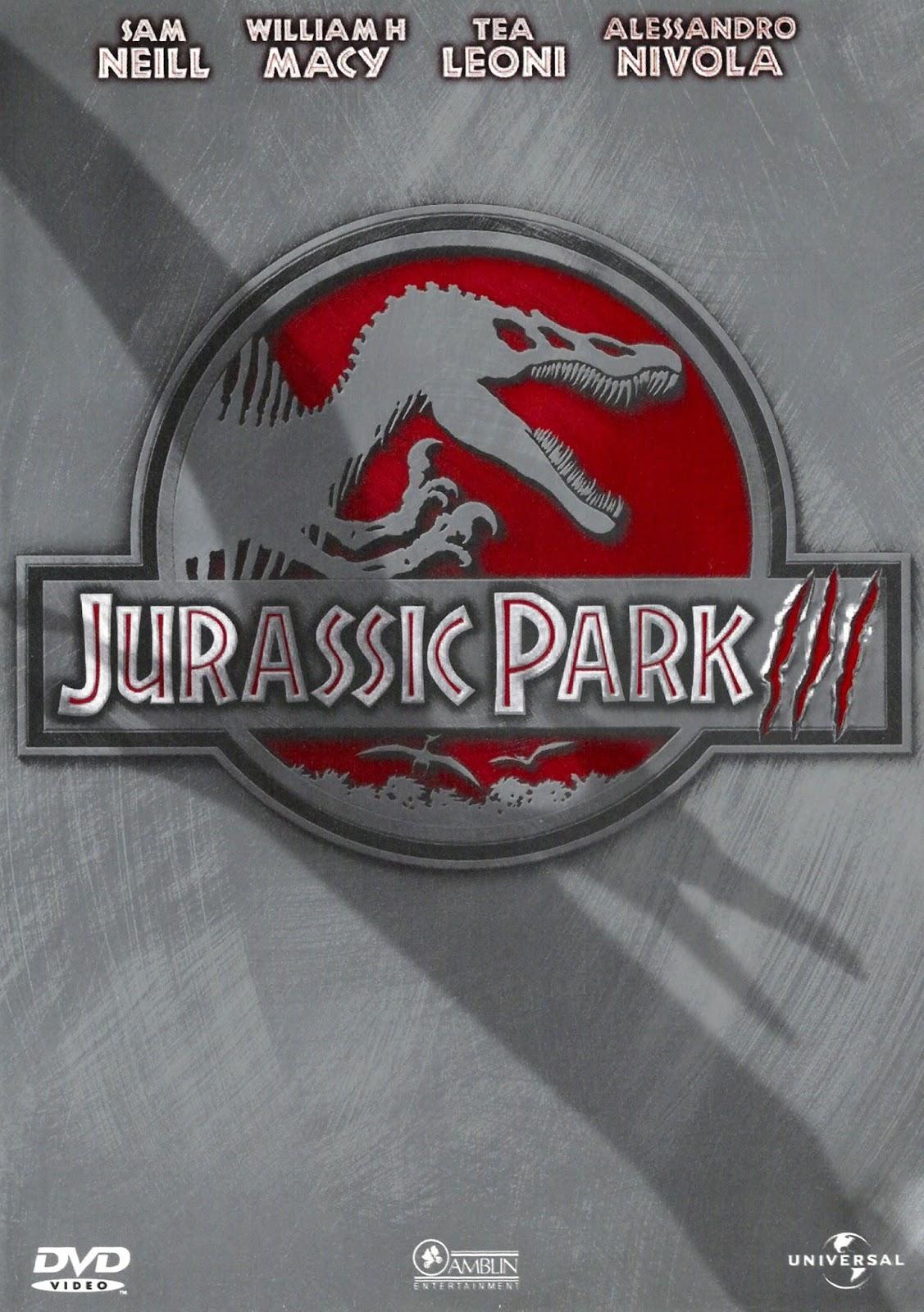 Jurassic Park 3 – Dublado (2001)