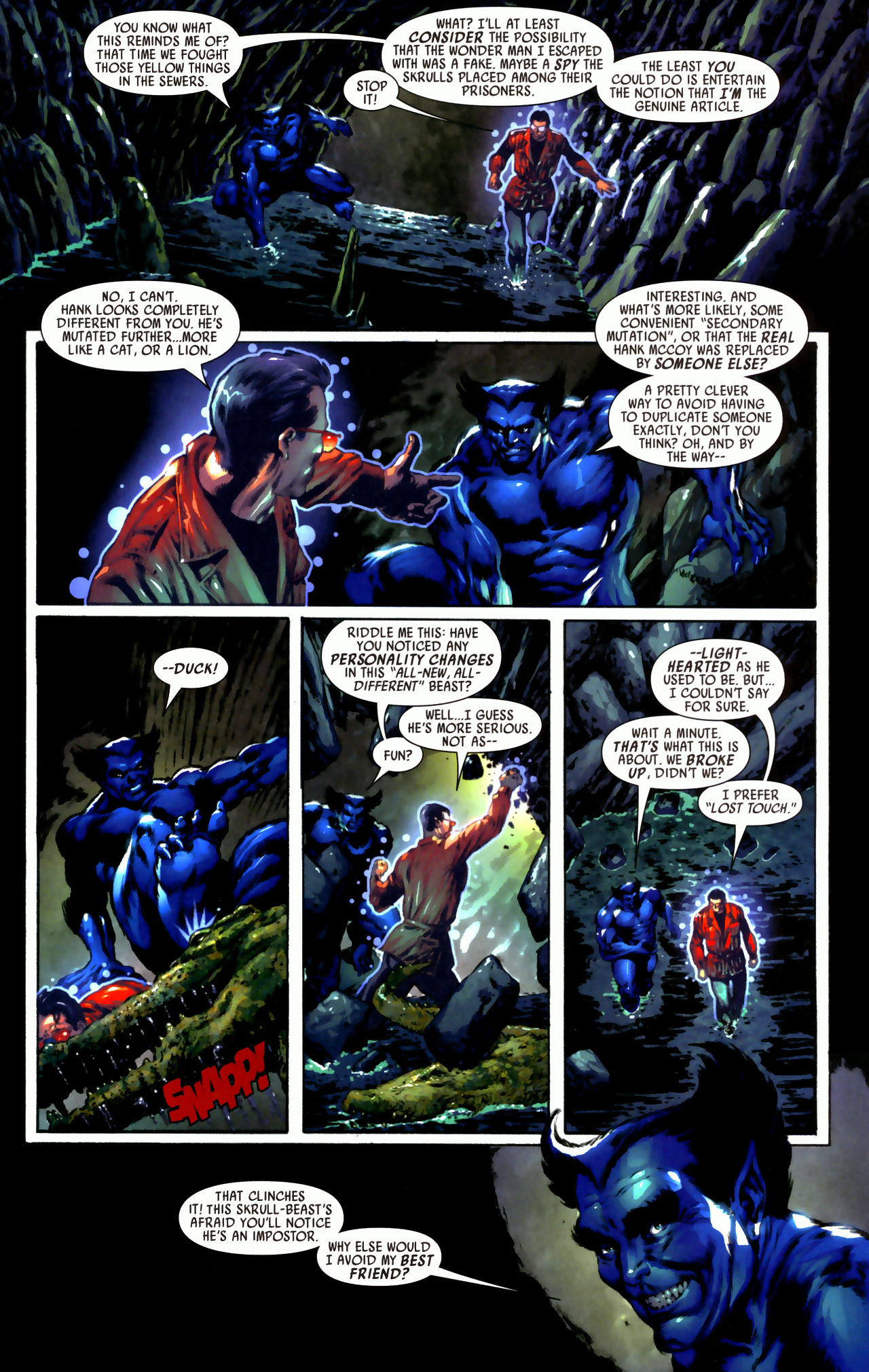 Read online Secret Invasion: Who Do You Trust? comic -  Issue # Full - 25