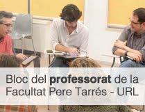Bloc Professorat Facultat Pere Tarrés URL