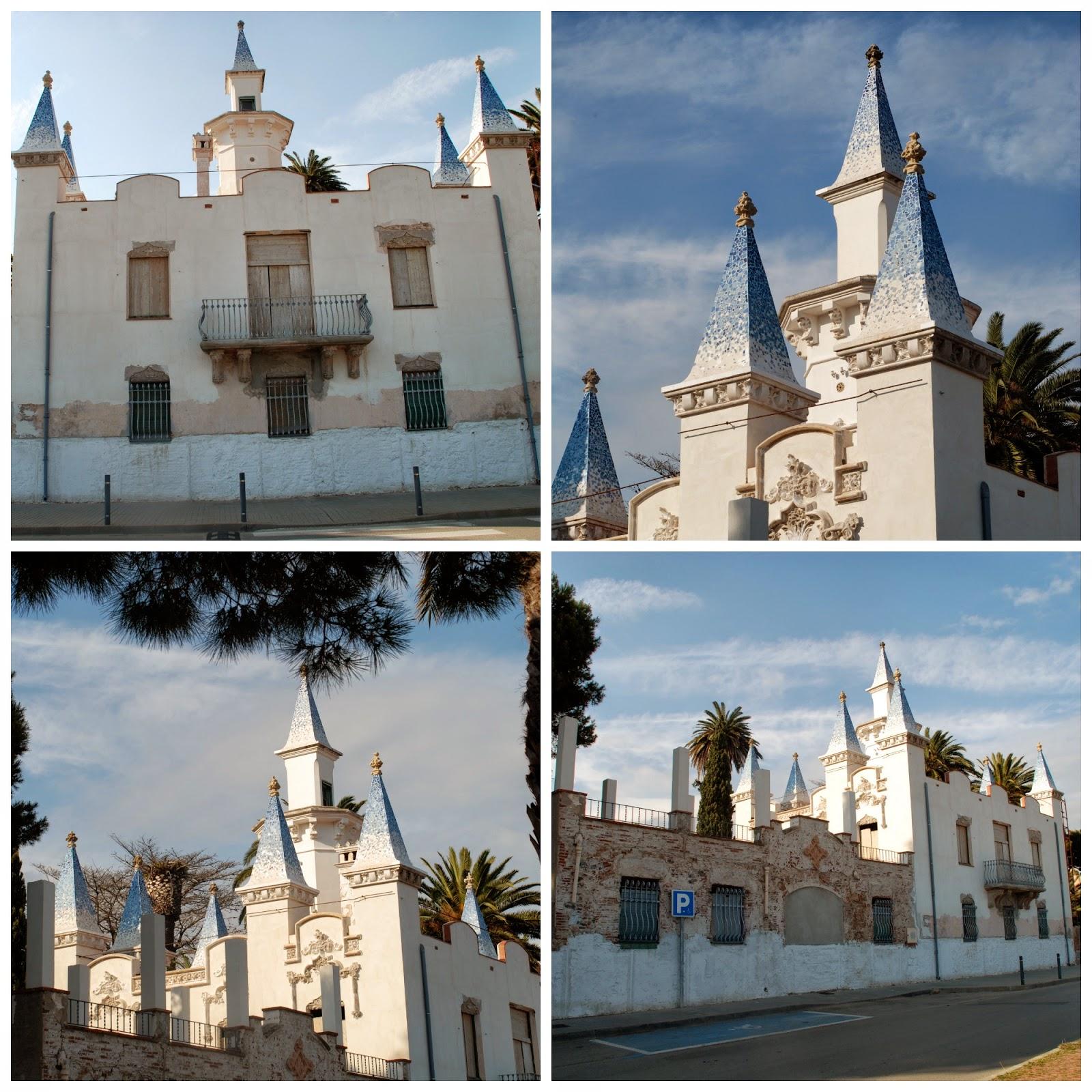 S'Agaro ... the pueblo down the road ...