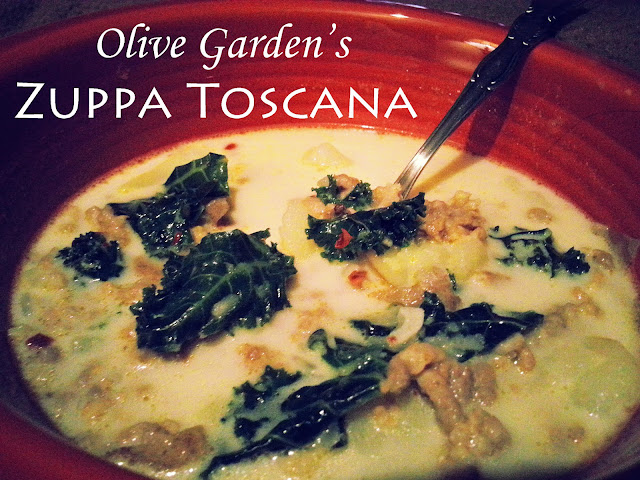 Home Styled Olive Garden 39 S Zuppa Toscana