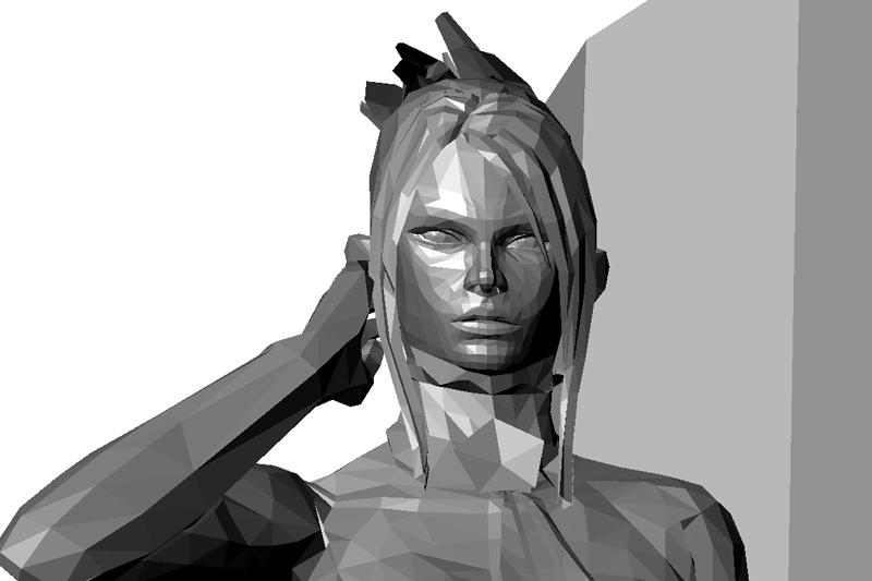 CG Tekken CGI Render
