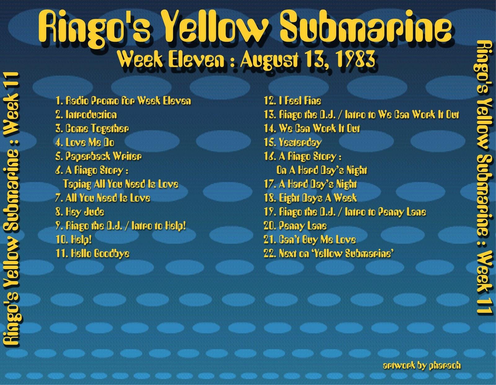 1983 08 13 Ringo's Yellow Submarine 11 #BA9B11 1600 1242