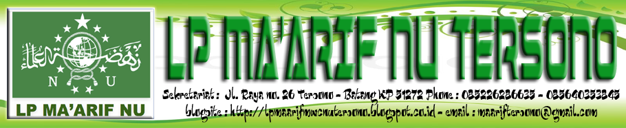 LP MA'ARIF MWC NU TERSONO