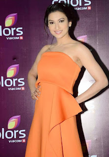 gauhar khan  at colors leadership awards 2015 6.jpg