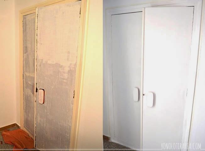 Yonolotiraria el apartamento 1 el dormitorio el - Como hacer puertas de armario ...