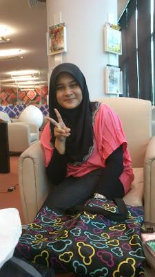 me with Ainon, Aishah at PPAS