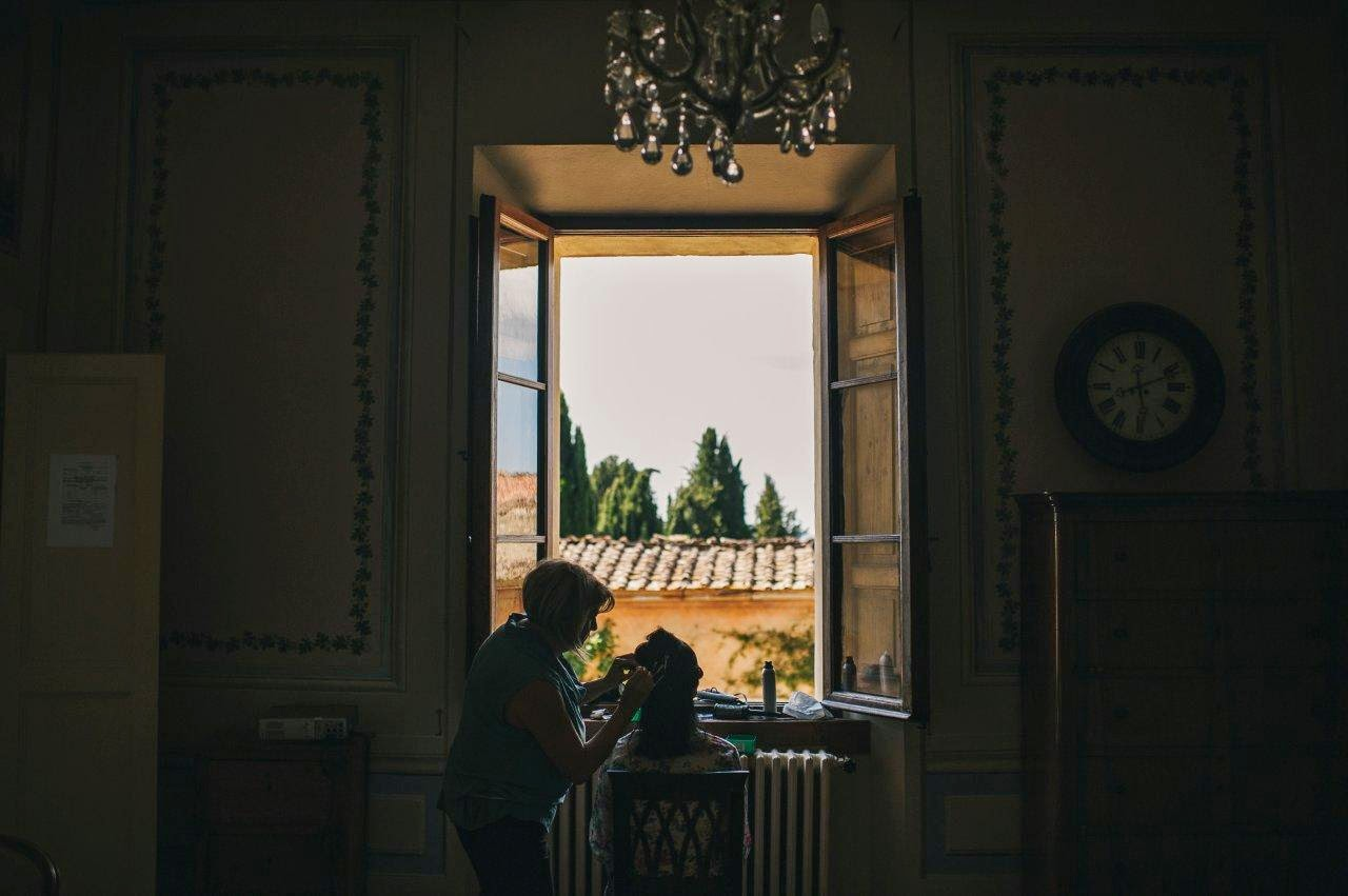 A wedding in Tuscany