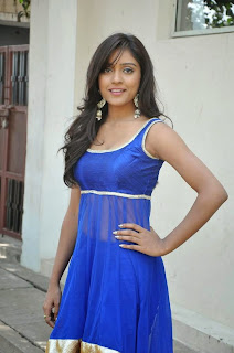 Vithika Sheru Latest Pictures in Blue Salwar Kameez at Paddanandi Premalo Mari Movie First Look Launch    ~ Bollywood and South Indian Cinema Actress Exclusive Picture Galleries