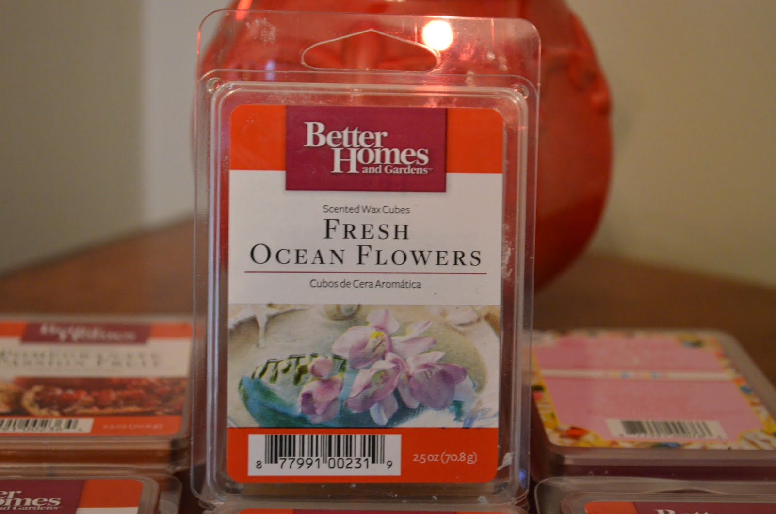 excellent better homes and gardens scented wax cubes.  BH G Scented Wax Cubes in Fresh Ocean Flowers I used 1 of these cubes for my first ever trial run the warming system which you can see pics This Army Kind Of Life Better Homes and Gardens Warmer