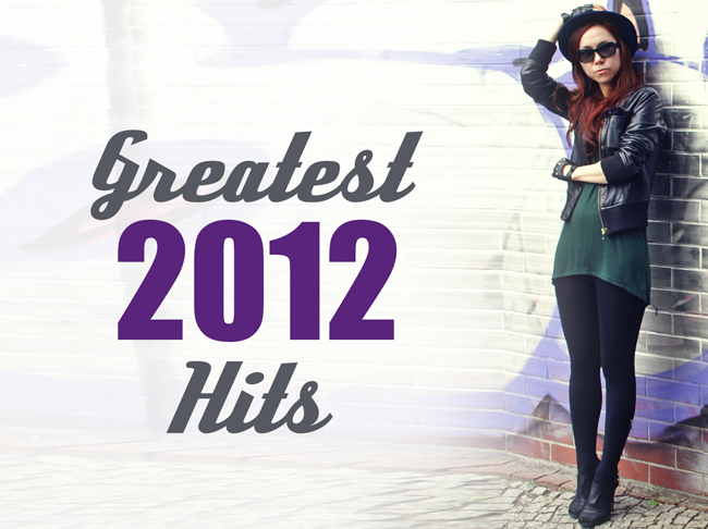 The greatest 2012 hits of fashionrolla.com