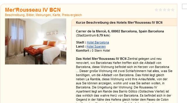 Room Rental Scam In Barcelona