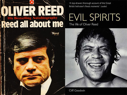 Oliver Reed books