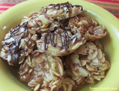 Honey Almond Crunch Cookies by CookieClubRecipes