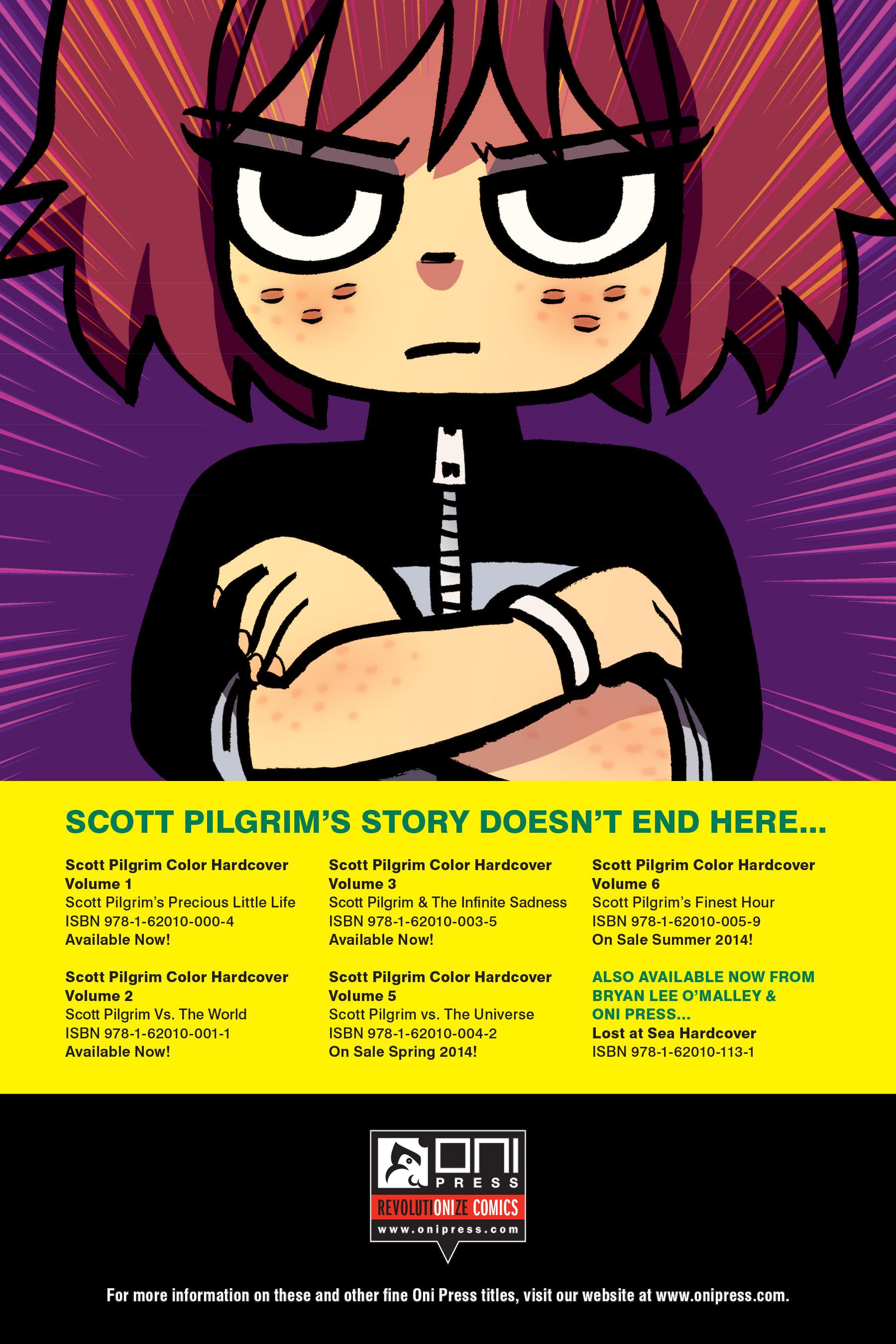 Read online Scott Pilgrim comic -  Issue #4 - 237