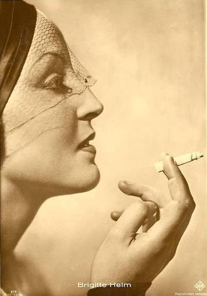 vintage portrait brigitte helm