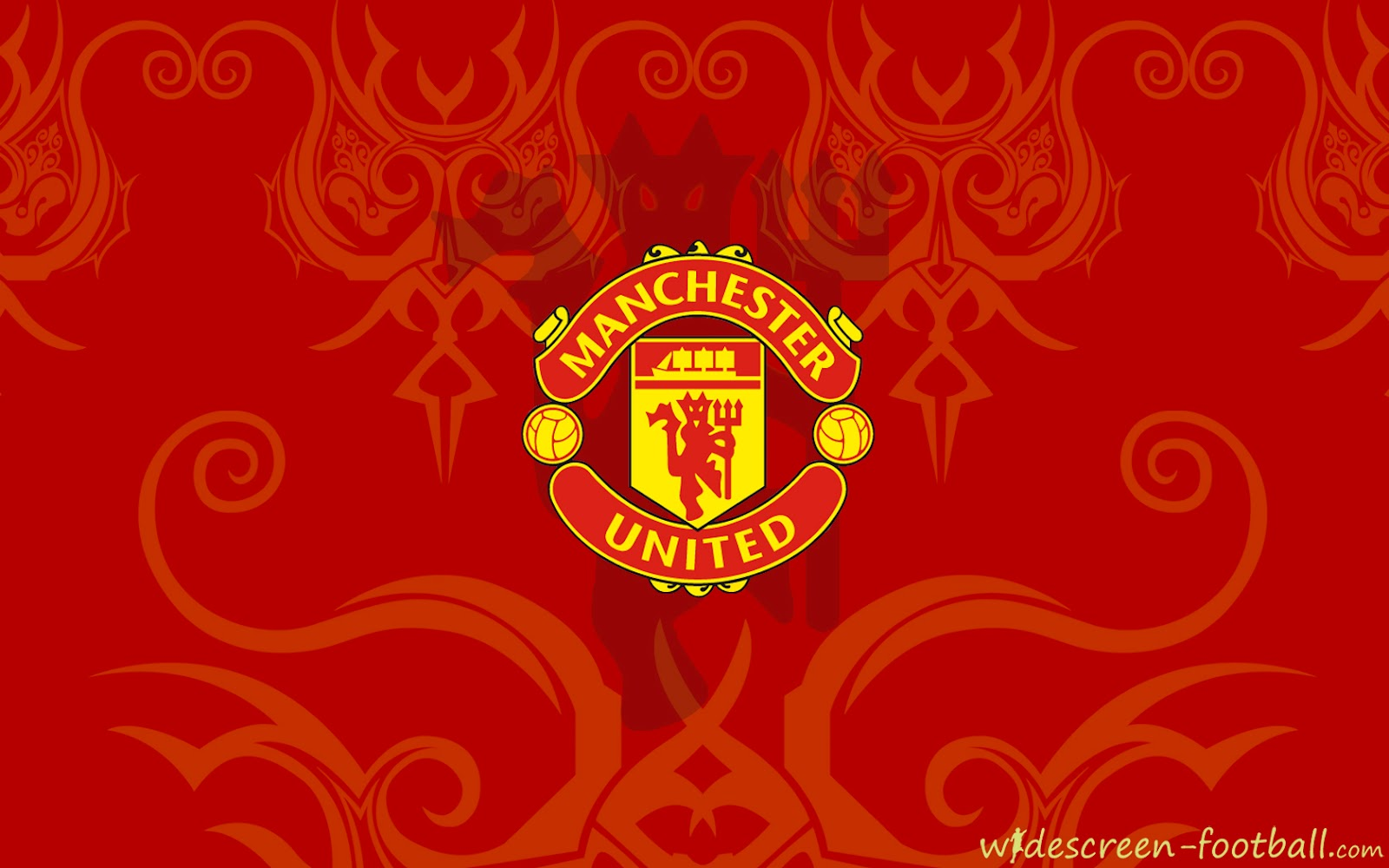 manchester united beautiful logo wallpaper manchester united
