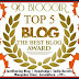 "Top 5 Blog ""The Best Blog Award"" - Jejaring Kimia"