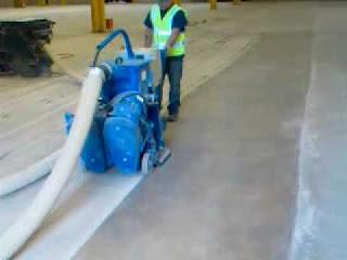 Granallado de pavimento