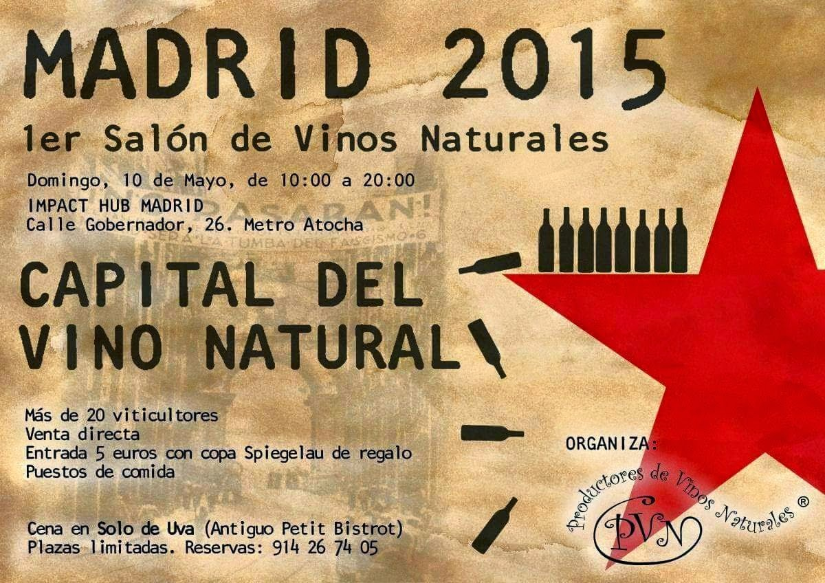 Madrid Mini-Natural Wine Tasting