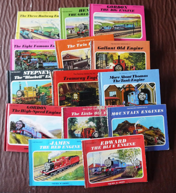 Vintage Thomas the Tank Engine books