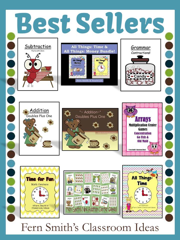 Fern Smith's Classroom Ideas 3 Million Strong TPT Sale Best Sellers
