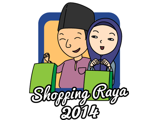 Shopping Raya 2014