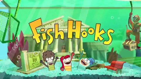 Experience disney 39 s fish hooks app on ios today biogamer for Fish hooks show