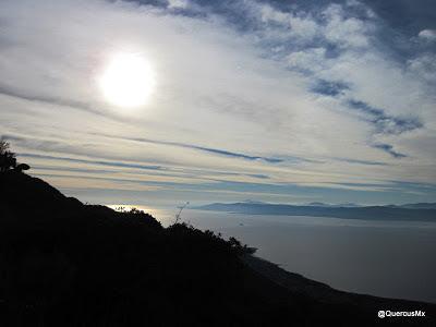 Lago de Chapala al amanecer