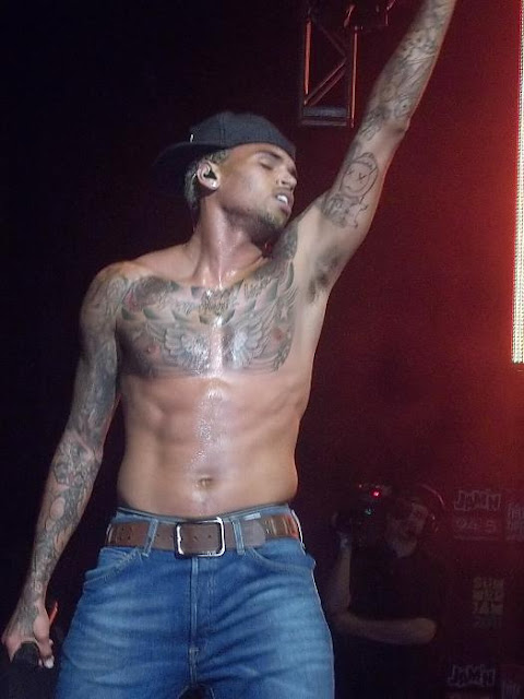 Chris Brown Looking Sexy