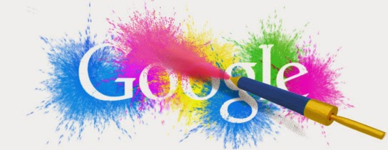 Holi Festival Doodle by Google