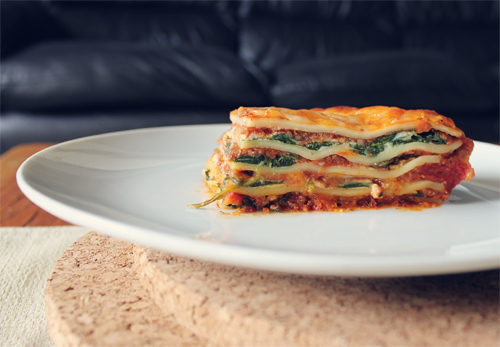 Meatless Vegetarian Lasagna