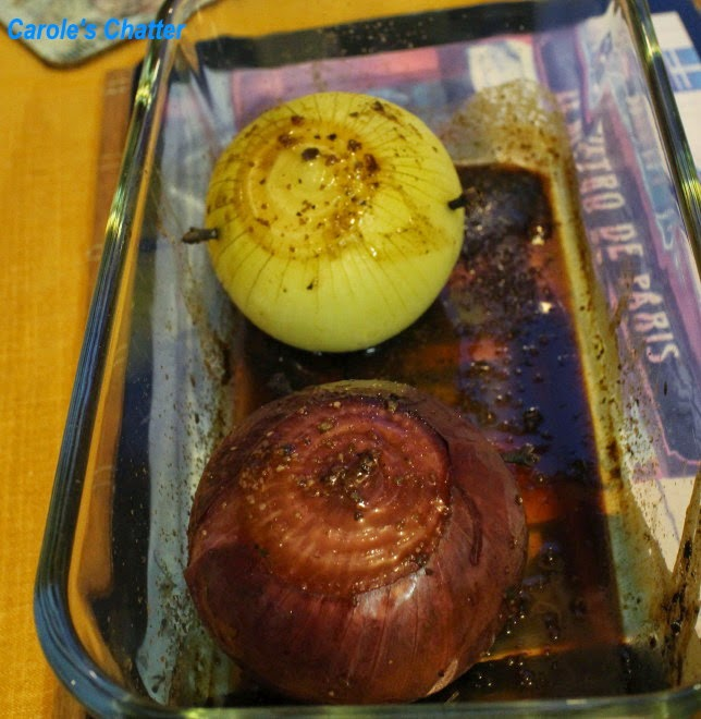 Baked onions by Carole's Chatter