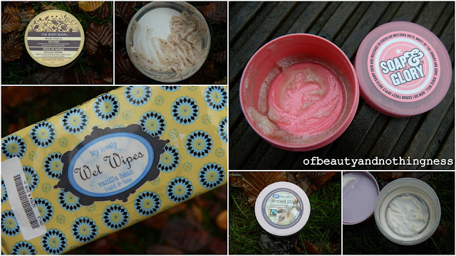 October and November Empties: Bath and Body