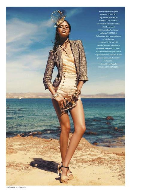 Jessica Clarke, Alexander Neumann, L'Officiel Paris, editorial, Vanessa Bellugeon