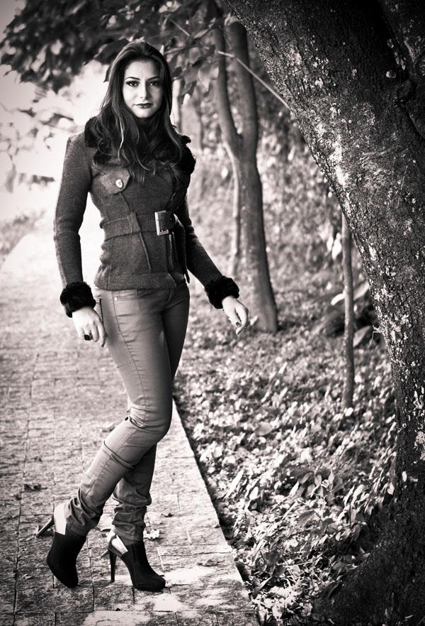Look outono inverno - casaco aviador - calça encerada burgundy