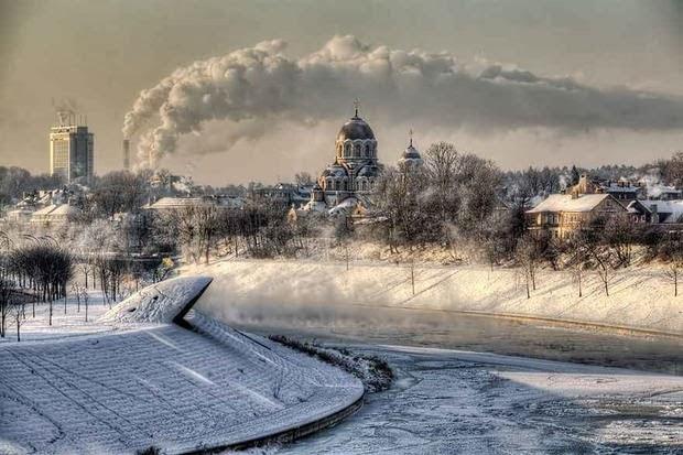 Las más bellas fotos de paisajes invernales.
