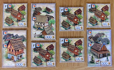 Elasund: The First City of Catan - Some of the larger neutral buildings