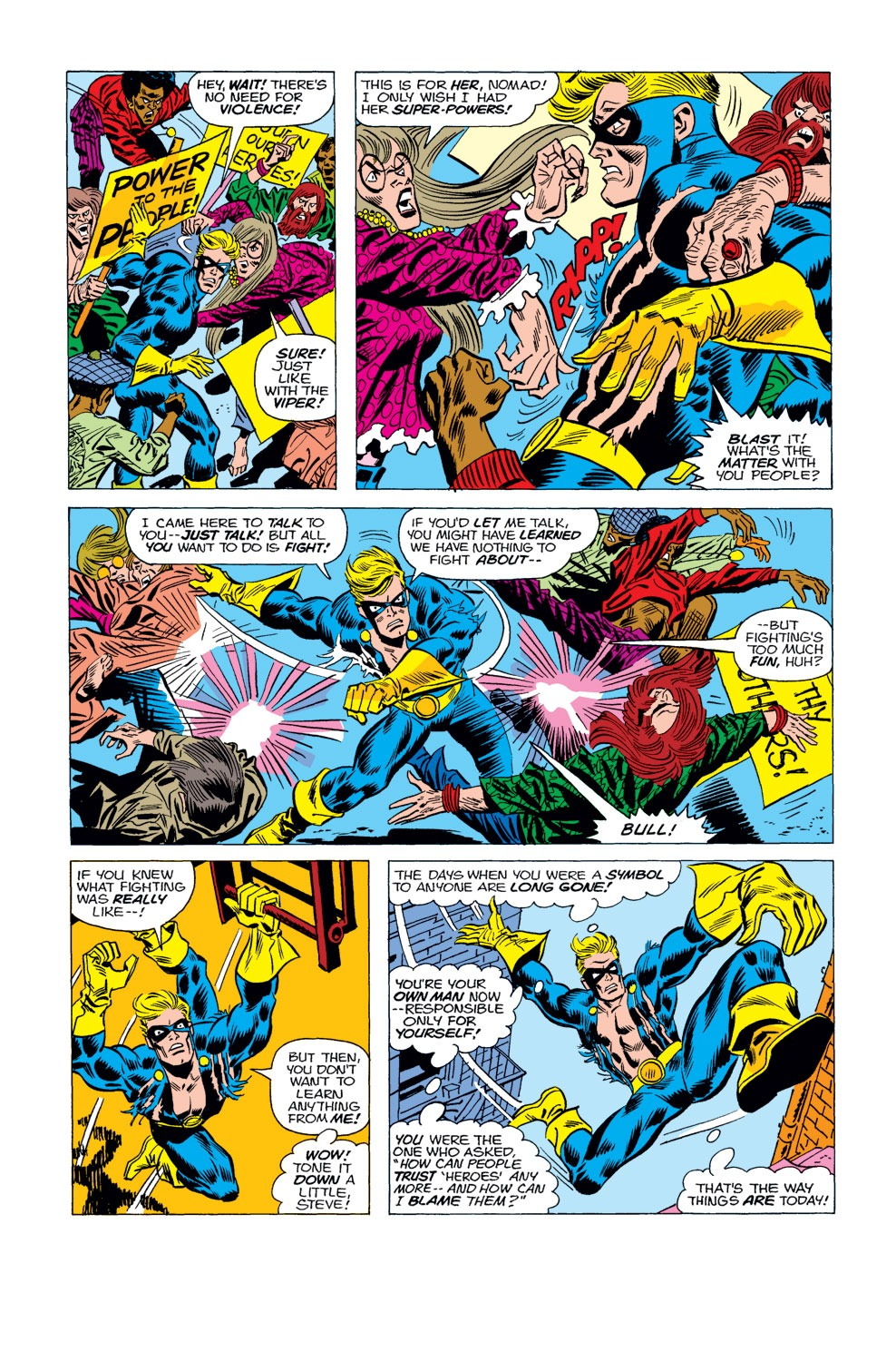 Captain America (1968) Issue #183 #97 - English 7