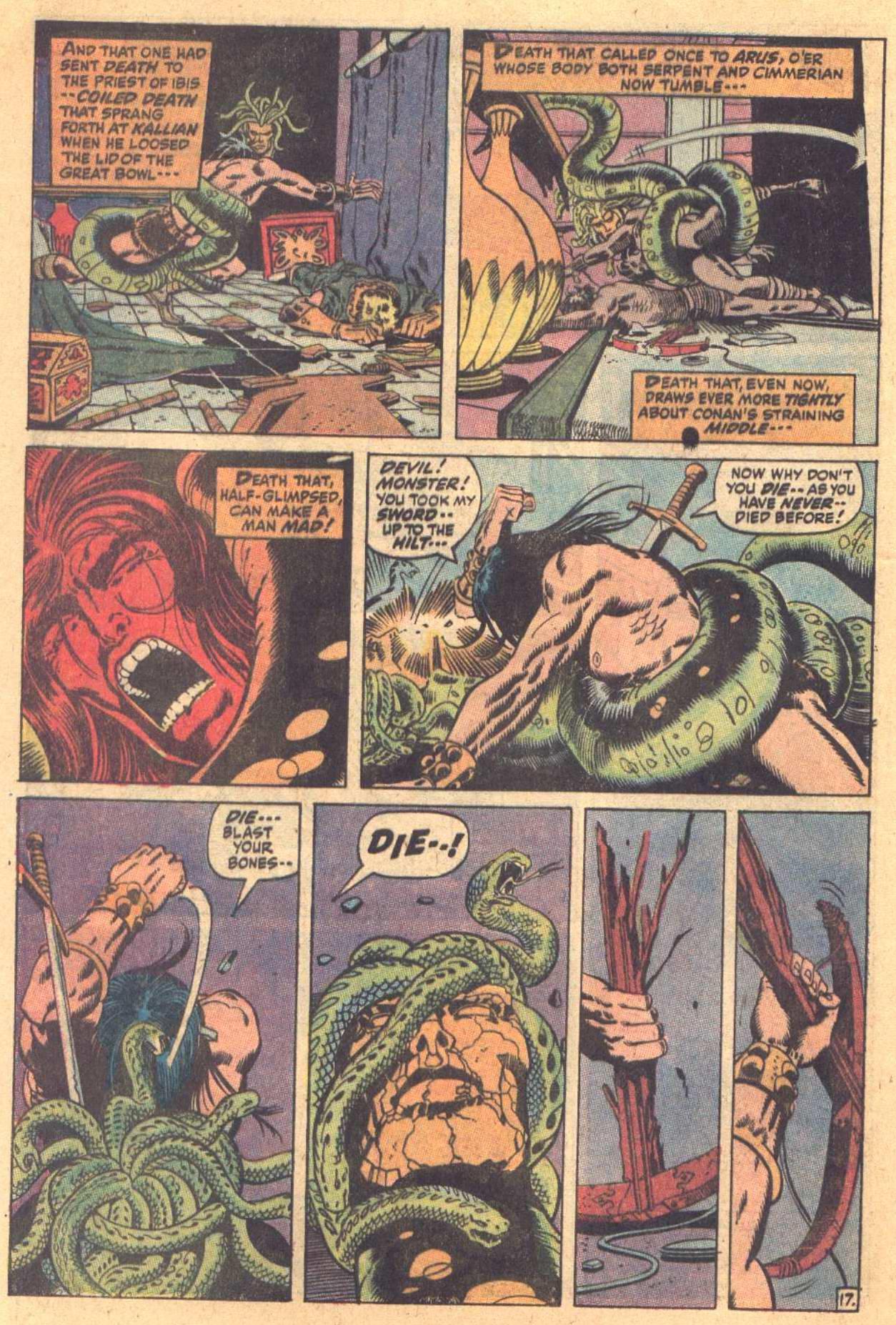 Conan the Barbarian (1970) Issue #7 #19 - English 18