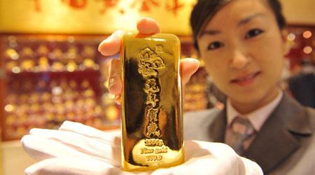 """""""Thị trường vàng"""", vàng rơi xuống 37,5 triệu đồng/lượng"""