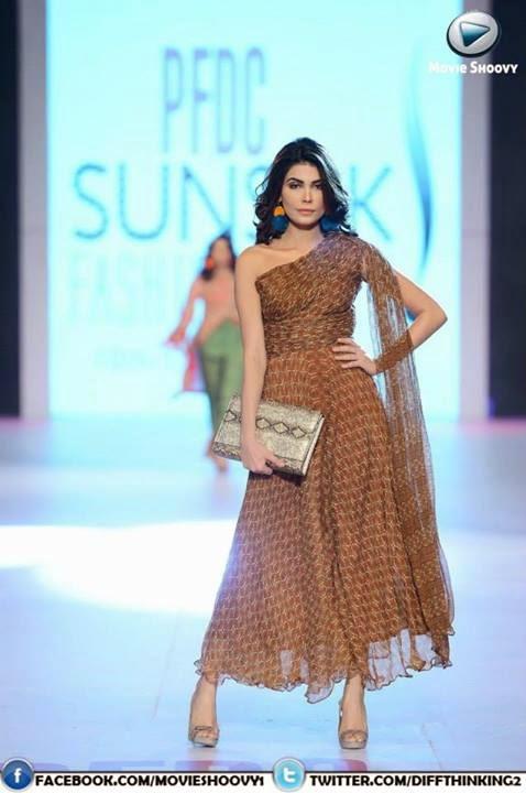 7th PFDC Sunsilk Fashion Week 2014 Full of Nudity & Skin Exposure