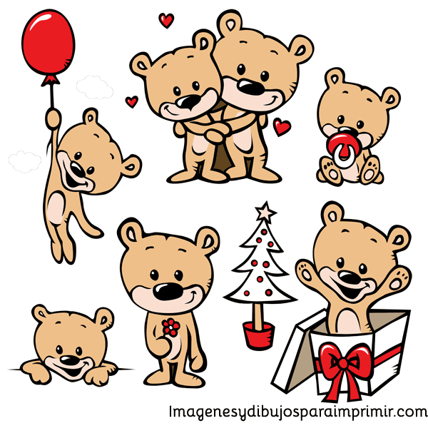 Imagenes de navidad infantiles para imprimir
