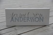 Familjen Andersson.