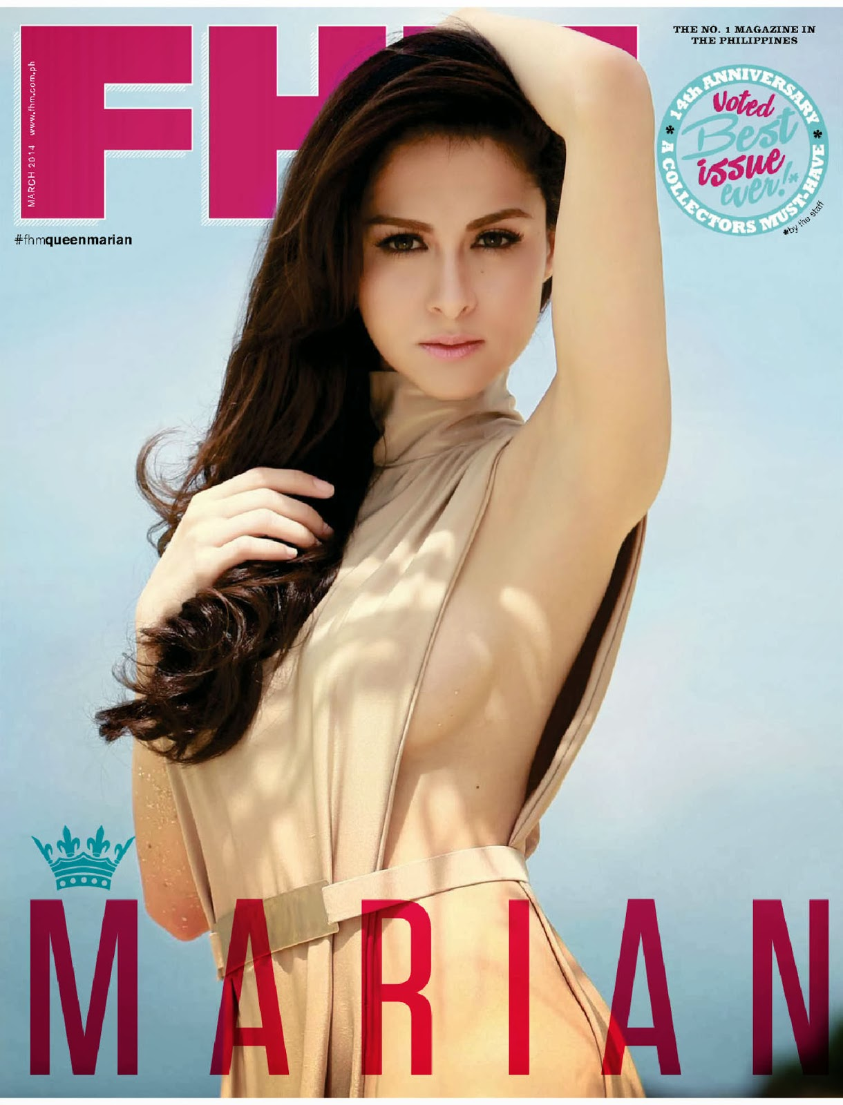 Marian Rivera - FHM Philippines Magazine,March 2014